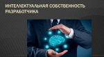 Интеллектуальная собственность разработчика
