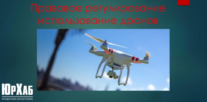 Регулирование использования дронов изображение 1